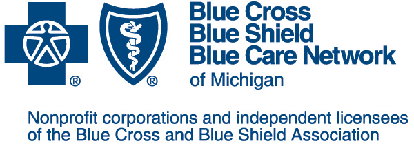 Blue Cross Blue Shield Blue Care Network of Michigan logo