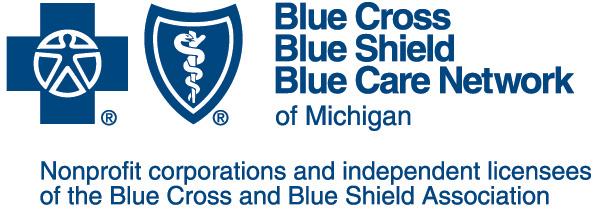 Blue Cross Blue Shield Blue Care Network of Michigan logo
